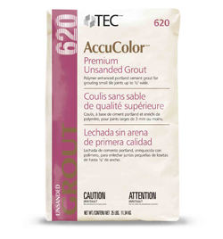 AccuColor® Premium Unsanded Grout