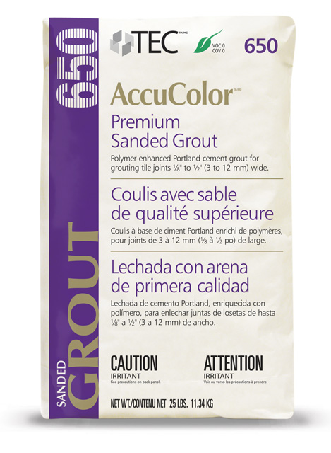 AccuColor® Premium Sanded Grout